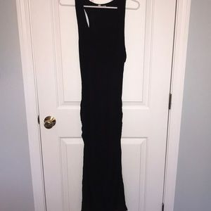 Rouched Midi Dress
